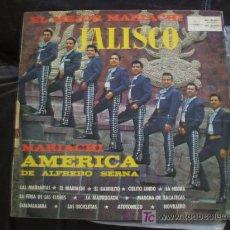 Discos de vinilo: MARIACHI AMERICA - JALISCO.. Lote 6121067