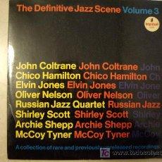 Discos de vinilo: DEFINITIVE JAZZ ESCENE. COLECCION RARE PREVIOUSLY UNRELEASED RECORDINGS-IMPULSE1966- ORIG ESPAÑOL. Lote 27195985