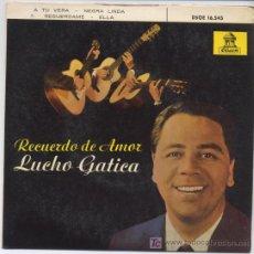 Discos de vinilo: LUCHO GATICA, A TU VERA. Lote 6126335