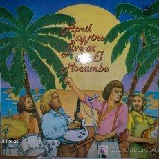 Discos de vinilo: APRIL WINE ---- LIVE AT THE MOCAMBO. Lote 15629995