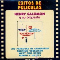 Discos de vinilo: HENRY SALOMON / LOS PARAGUAS DE CHERBURGO / ANONIMO VENECIANO (TEMA DE AMOR) EP. Lote 6144393