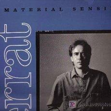 Discos de vinilo: LP JOAN MANUEL SERRAT - MATERIAL SENSIBLE . Lote 19256632