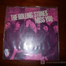 Discos de vinilo: SINGLE THE ROLLING STONES. Lote 26403643