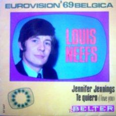 Discos de vinilo: LOUIS NEEFS. Lote 23894297