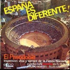 Discos de vinilo: ALFONSO Y MANUEL LABRADOR - ESPAÑA CAÑÍ / EN EL MUNDO / EL GATO MONTÉS / ISLAS CANARIAS - EP1966. Lote 6197411