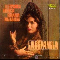 Discos de vinilo: ORQUESTA ESPAÑOLA DE BAILE - LA ESPAÑOLA / VALENCIA / GRANADA / MALAGUEÑA - EP 1966. Lote 16731045
