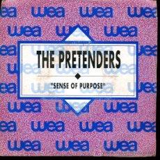 Discos de vinilo: THE PRETENDERS - SENSE OF PURPOSE - 1990 - PROMOCIONAL. Lote 16731047