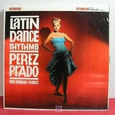 Discos de vinilo: PEREZ PRADO AND ARMAND TORRES ( LATIN DANCE RHYTHMS ) 'MAMBO FRASQUITA,MAMBO EL RAINBOW' USA LP33. Lote 6210388