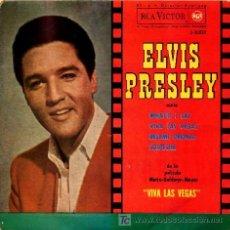 Discos de vinilo: ELVIS PRESLEY ··· WHAT´D I SAY / VIVA LAS VEGAS / BESAME PRONTO / SOSPECHA - (EP 45 RPM). Lote 22607802