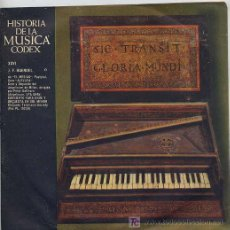 Discos de vinilo: HISTORIA DE LA MUSICA CODEX - J. F. HAENDEL - SINGLE ESPAÑOL DE 1965. Lote 6216124