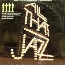 Disques de vinyle: BSO ALL THAT JAZZ-ROY SCHEIDER LP CASABLANCA 1980. Lote 50587932