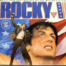 Disques de vinyle: BSO ROCKY V-M.C. HAMMER-ELTON JOHN-SNAP-JOEY B. ELLIS ETC.. LP EDITA CAPITOL 1990. Lote 6218653