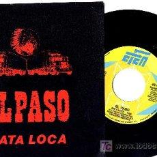 Discos de vinilo: EL PASO SINGLE . Lote 11878422