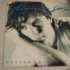 Discos de vinilo: LP ALEJANDRO SANZ. FIRMADO Y DEDICADO!!!!!!!!!!!!!!. Lote 6845558