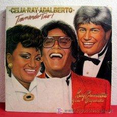 Discos de vinilo: CELIA CRUZ, RAY BARRETO & ADALBERTO ( TREMENDO TRIO ) CANADA - 1973 LP332. Lote 6240277