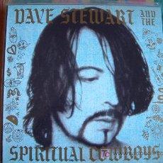 Discos de vinilo: LP - DAVE STEWART AND THE SPIRITUAL COWBOYS - M/T - ORIGINAL ESPAÑOL, BMG RECORDS 1990. Lote 6246092