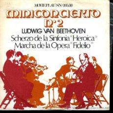 Discos de vinilo: ORQUESTA FILARMÓNICA DE LONDRES - BEETHOVEN - MINICONCIERTO Nº 2 - DIR. ADRIAN BOULT - 1971. Lote 6255165