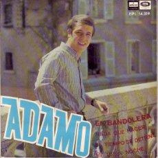 Discos de vinilo: ADAMO CANTA EN ESPAÑOL EP 1967- EN BANDOLERA. Lote 25012033
