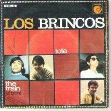 Discos de vinilo: LOS BRINCOS - LOLA / THE TRAIN*** NOVOLA 1967. Lote 12257834