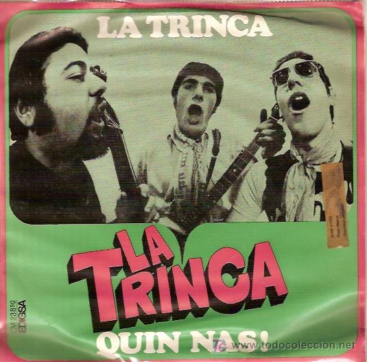 LA TRINCA SINGLE SELLO EDIGSA AÑO 1969 (Música - Discos - Singles Vinilo - Otros estilos)