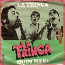 Discos de vinilo: LA TRINCA SINGLE SELLO EDIGSA AÑO 1969. Lote 6299311