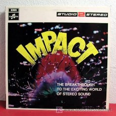 Discos de vinilo: IMPACT (VARIAS ORQUESTAS; FRANCK POURCEL, PEPE JARAMILLO, JOE LOSS,BASIL HENRIQUES...) ENGLAND 1968. Lote 6301456