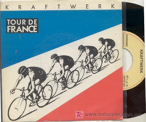 SINGLE 45 RPM / KRAFTWERK / TOUR DE FRANCE /// EDITADO POR EMI ESPAÑA (Música - Discos - Singles Vinilo - Techno, Trance y House)