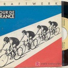 Discos de vinilo: SINGLE 45 RPM / KRAFTWERK / TOUR DE FRANCE /// EDITADO POR EMI ESPAÑA . Lote 13869025