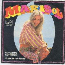 Disques de vinyle: MARISOL,CORAZON COTENTO,DEL 68. Lote 6313996