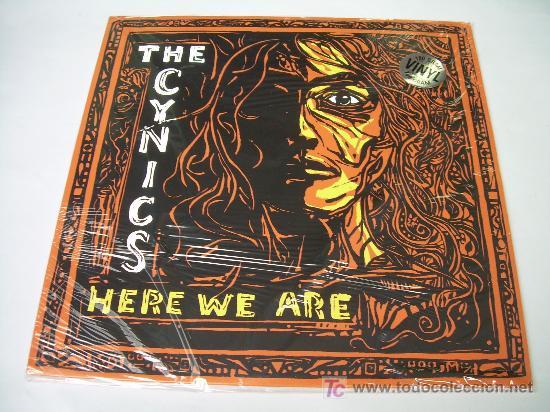 LP THE CYNICS HERE WE ARE NUEVO LPS 2007 GARAGE (Música - Discos - LP Vinilo - Punk - Hard Core)