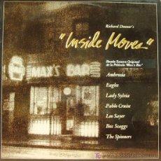 Discos de vinilo: BSO INSIDE MOVES-EAGLES-AMBROSIA-BOZ SCAGGS-SPINNERS-ETC.. LP VINILO HISPAVOX 1980. Lote 6345420