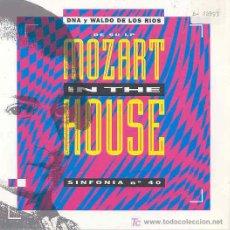 Discos de vinilo: WALDO DE LOS RIOS - SINFONIA Nº 40 HOUSE MIX - SINGLE PROMO ESPAÑOL DE 1991. Lote 6364855