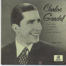 Discos de vinilo: CARLOS GARDEL, MANO A MANO. Lote 6373476