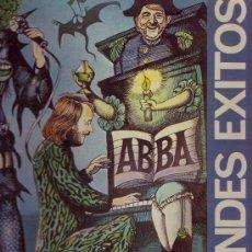 Discos de vinilo: ABBA LP GRANDES EXITOS PORTADA DOBLE 1976 SPA CARNABY TXS 3051. Lote 23015719