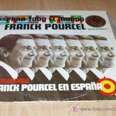 Discos de vinilo: FRANCK POURCEL 2 DISCOS. UNO DE ELLOS EN ESPAÑA. Lote 27304097