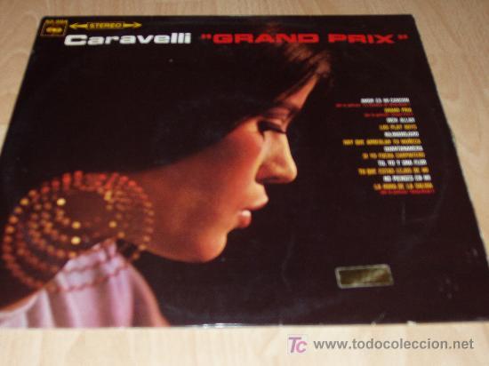 CARAVELLI, GRAND PRIX (Música - Discos - LP Vinilo - Orquestas)