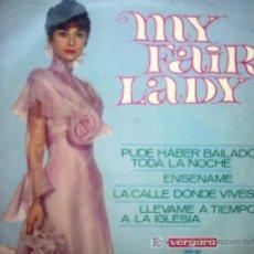 Discos de vinilo: MY FAIR LADY. Lote 27259280