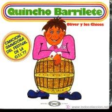Discos de vinilo: OLIVER Y SUS CHICOS - QUINCHO BARRILETE / TENGO UN CORRAL - 1977 - INFANTIL. Lote 217691086