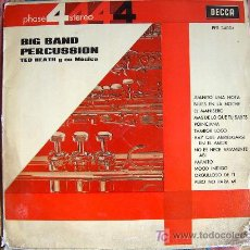Vinyl records - lp - ted heath y su musica - big band percussion - 4 fases, original español, decca 1964 - 6438412