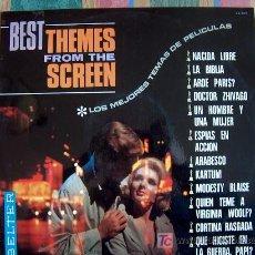 Discos de vinilo: LP - LOS MEJORES TEMAS DE PELICULAS - VARIOS - ORIGINAL ESPAÑOL, BELTER 1967. Lote 15200558