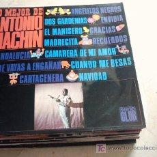 Discos de vinilo: MUSICA GOYO - LP - ANTONIO MACHIN - LO MEJOR... *AA98. Lote 22555165