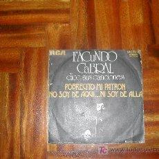Discos de vinilo: FACUNDO CABRAL. Lote 26760839