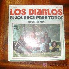 Discos de vinilo: LOS DIABLOS. Lote 26760777