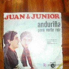 Discos de vinilo: JUAN Y YUNIOR. Lote 26760775