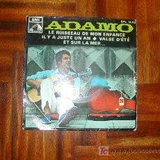 Discos de vinilo: ADAMO. Lote 26760842