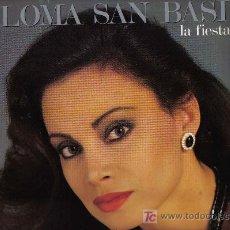 Discos de vinilo: LP PALOMA SAN BASILIO - LA FIESTA TERMINO - ARREGLOS DE JUAN CARLOS CALDERON Y RAFAEL TRABUCCHELLI. Lote 40089681