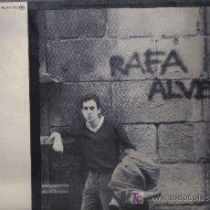Discos de vinilo: LP RAFA ALVERÓ - ARREGLOS DE RICARDO MIRALLES Y JAVIER ITURRALDE - PORTADA ABIERTA - HOJAS PROMOCION. Lote 20399308