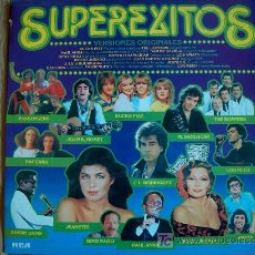 Discos de vinilo: SUPEREXITOS - VARIOS - ORIGINAL ESPAÑOL, RCA 1981. Lote 6495573