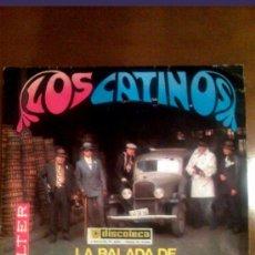 Discos de vinilo: SINGLE LOS CATINOS DE BELTER 1968 BALADA DE BONNIE Y CLIDE. Lote 27393769