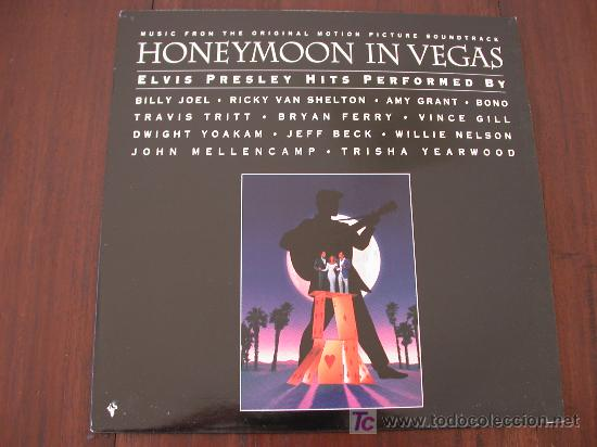 Discos de vinilo: HONEYMOON IN VEGAS (HOLANDA-EPIC-1992) BANDA SONORA LP TRIBUTO ELVIS PRESLEY - Foto 1 - 19233433